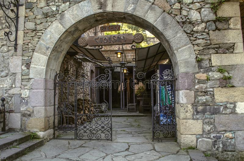 Wrought Iron Gate To A Museum Stock Photo
