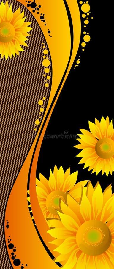 Beautiful Yellow Sunflowers Royalty Free Stock Image