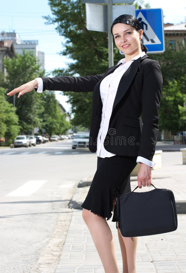 Download Beautiful Youn Business Woman Stock Image - Image of lifestyle, passenger: 23933975