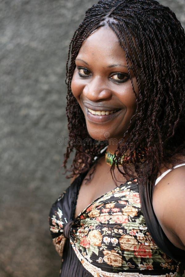 Beautiful Young African Woman