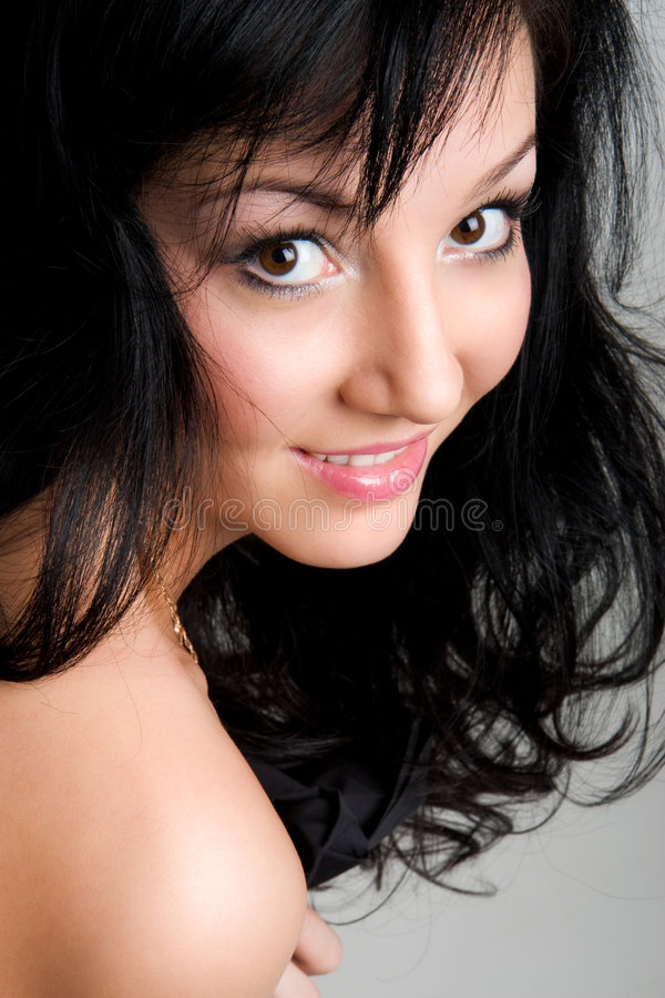 Beautiful young asian girl stock photo