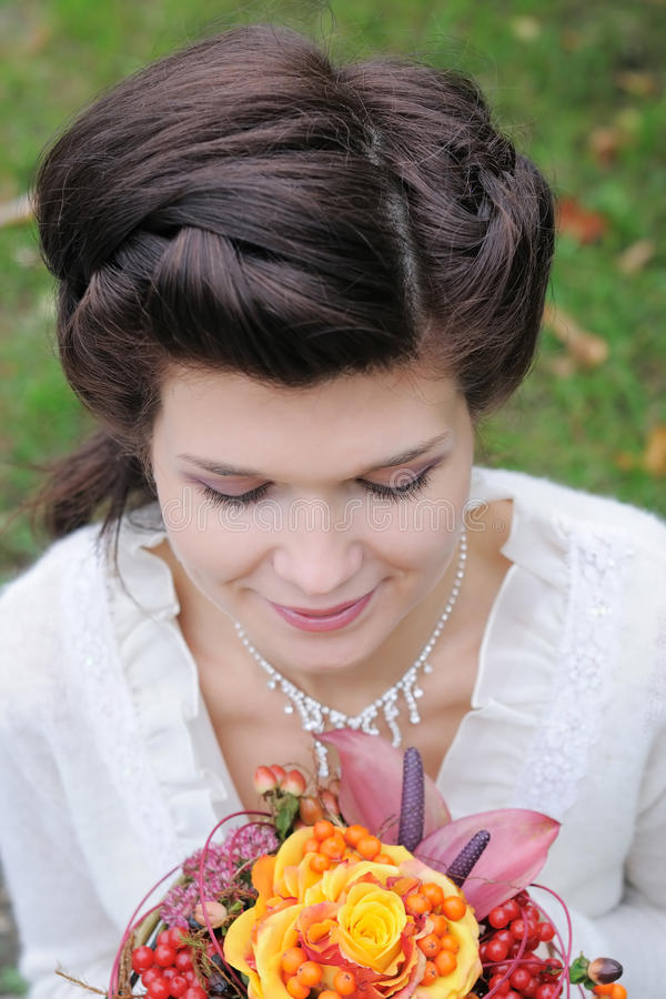 Download Beautiful Young Bride Stock Image - Image: 24515691