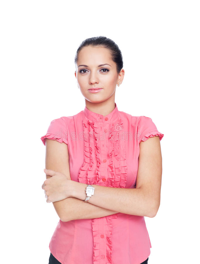 Download Beautiful Young Businesswoman Stock Photo - Image of aspirations, looking: 22155782