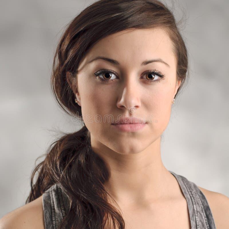 Download Beautiful Young Caucasian Woman Portrait Stock Image - Image: 30557031
