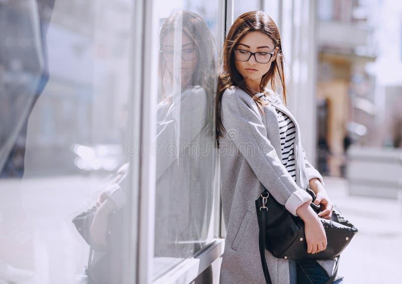 Beautiful young fashion girl royalty free stock image