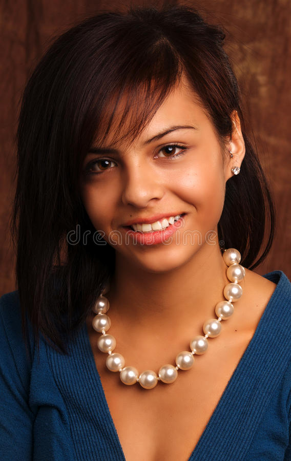 Beautiful Young Fresh Faced Latina Woman Stock Image - Image Of Face, Teen 11322365-2472