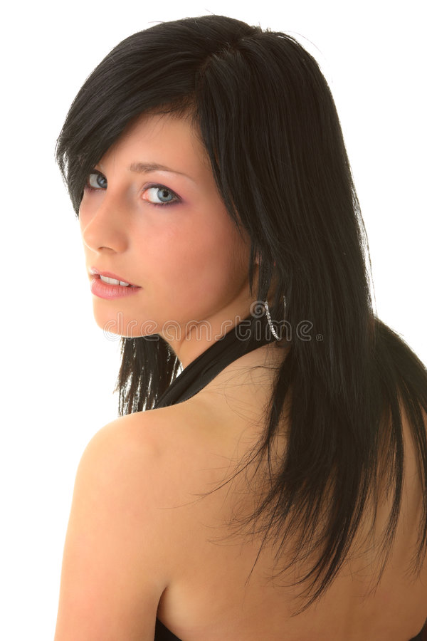 Download Beautiful Young Girl Elegant Dress Stock Image - Image: 9300693