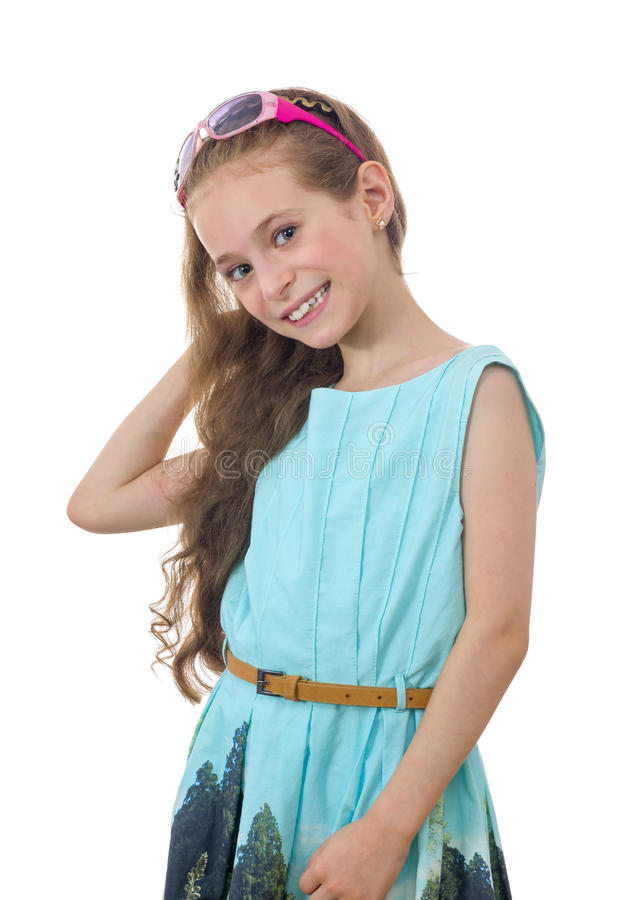 Free Beautiful Young Girl With A Smile Stock Image - 48631521