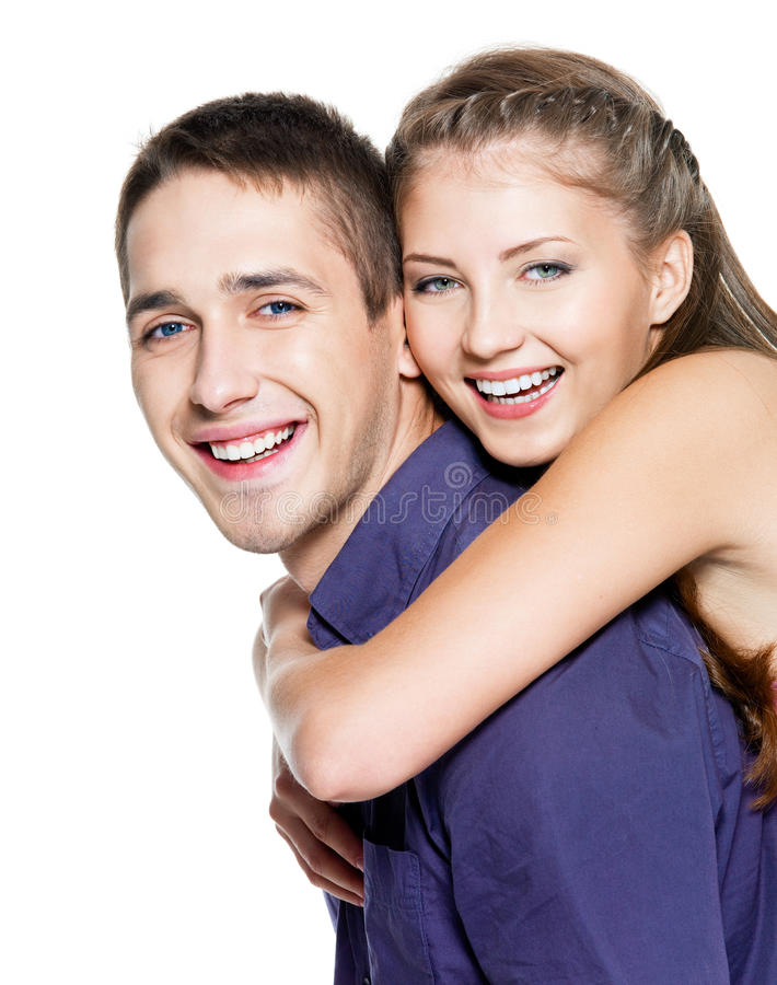 Download Beautiful Young Happy Couple Stock Photo - Image: 16592140
