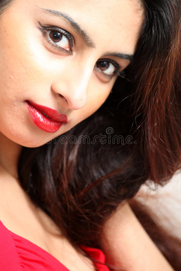 Download Beautiful Young Indian Lady Stock Photo - Image of beauty, classy: 9033196