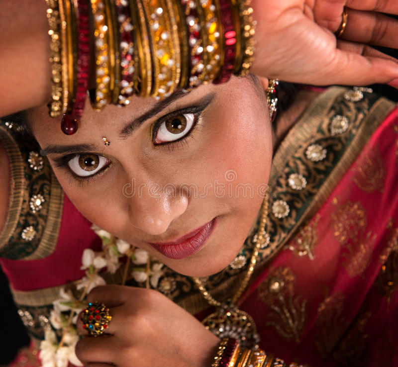 Beautiful Young Indian Woman Stock Image - Image Of Bridal -9368