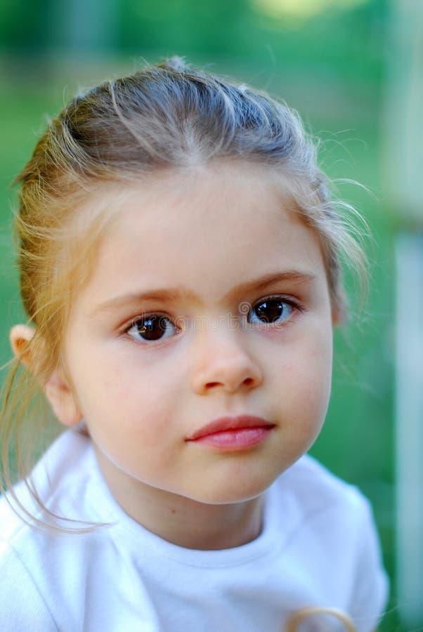Beautiful young kid girl stock photography