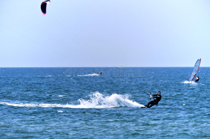 Download Beautiful Young Kite Surfer Editorial Photo - Image: 30984406