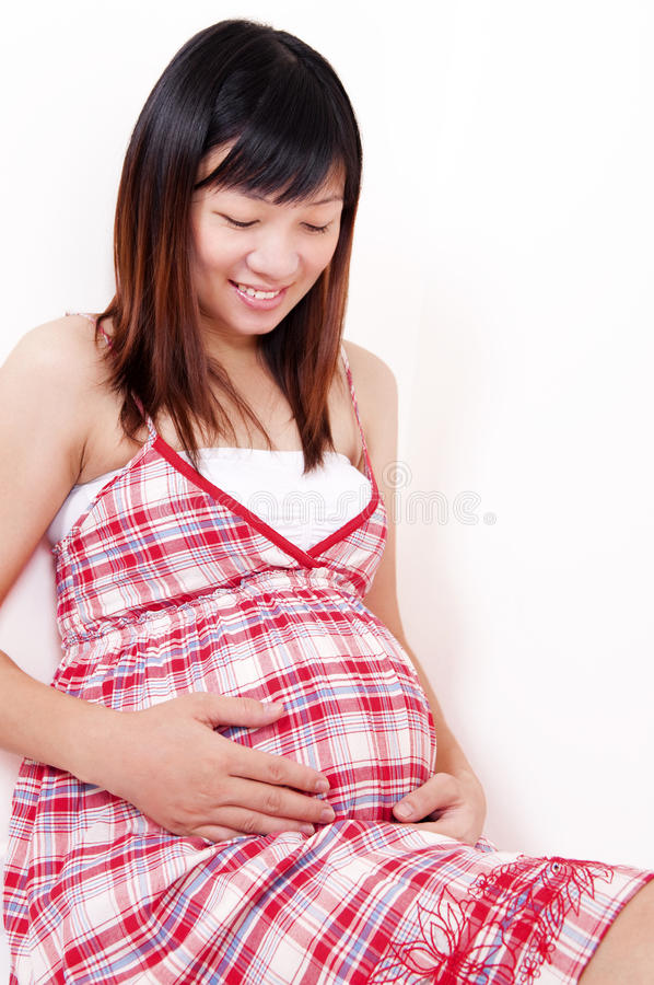 Beautiful Young Mother stock photography
