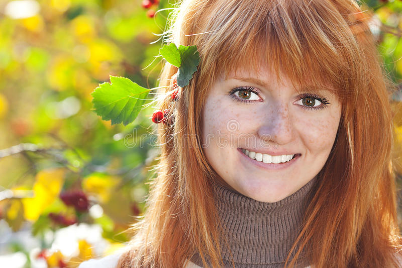 Download Beautiful Young Redhead Teenager Woman Stock Photo - Image: 26807342