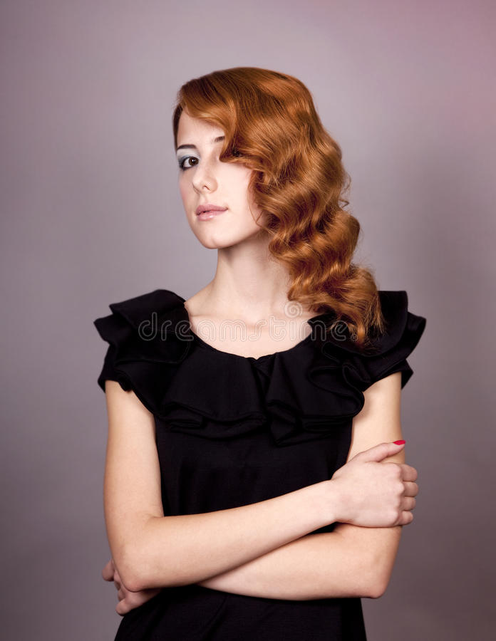 Free Beautiful Young Redhead Woman Royalty Free Stock Image - 22155636