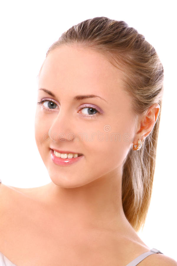 Beautiful Young And Woman Royalty Free Stock Photography