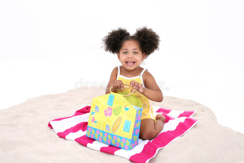 Download Beautiful Young Sitting In The Sand Stock Image - Image: 190063