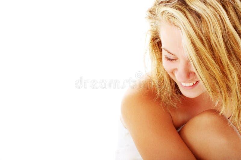 Download Beautiful Young Spa Vrouw Op Wit Stock Afbeelding - Afbeelding bestaande uit persoon, vers: 10783997