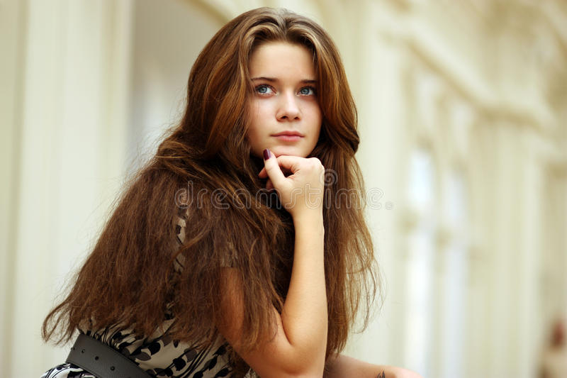 Download Beautiful young woman stock image. Image of happy, female - 11342139