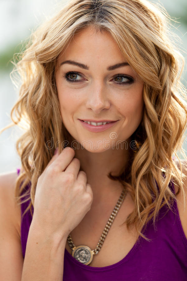 Download Beautiful young woman stock image. Image of portrait - 21483759