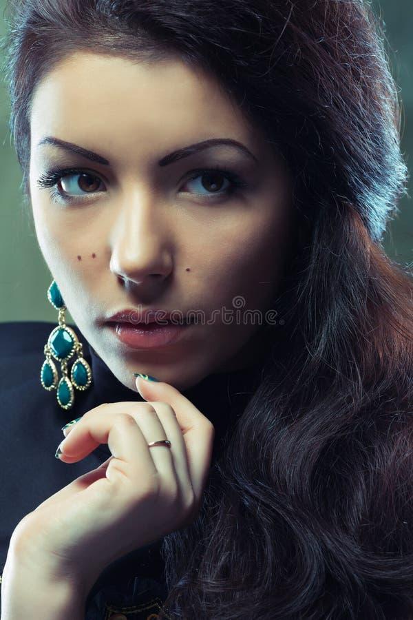 Download Beautiful young woman stock image. Image of hair, human - 25679013