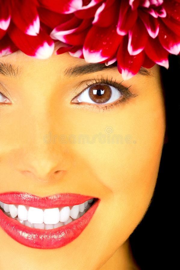 Download Beautiful young woman stock image. Image of female, make - 7270241