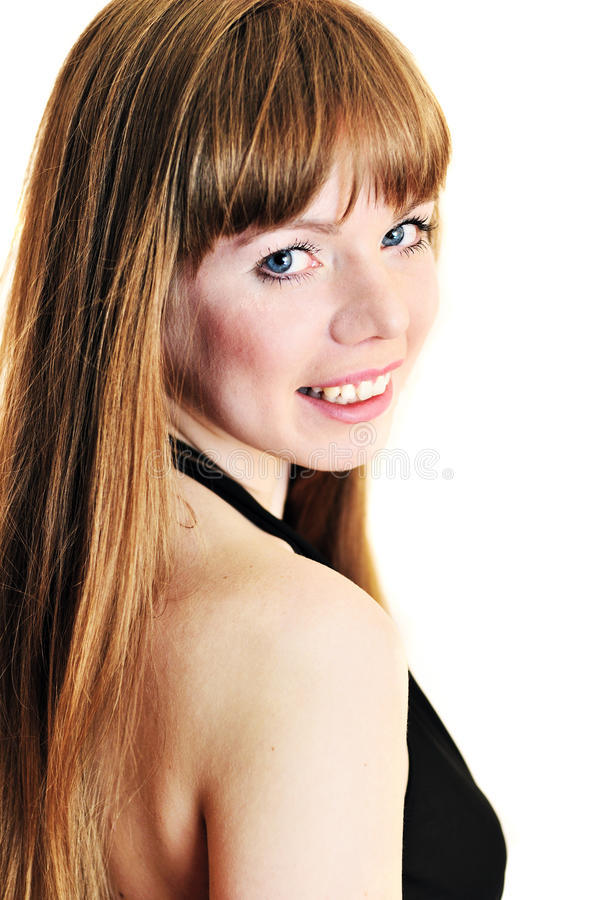 Download Beautiful Young Woman With Blue Eyes Stock Image - Image: 13506679