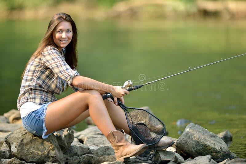 Hot babes fishing