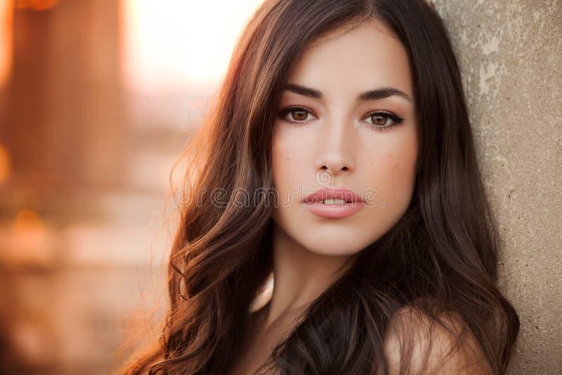 Unique beauty face royalty free stock photos