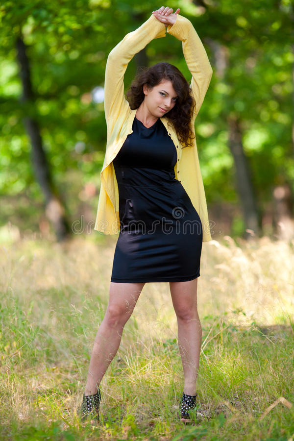 Download Beautiful Young Woman Outdoor Stock Photo - Image: 15397142