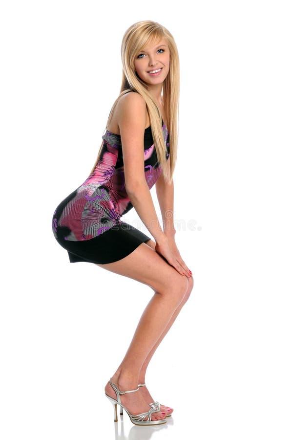 Download Beautiful Young Woman Posing Stock Image - Image: 12835085