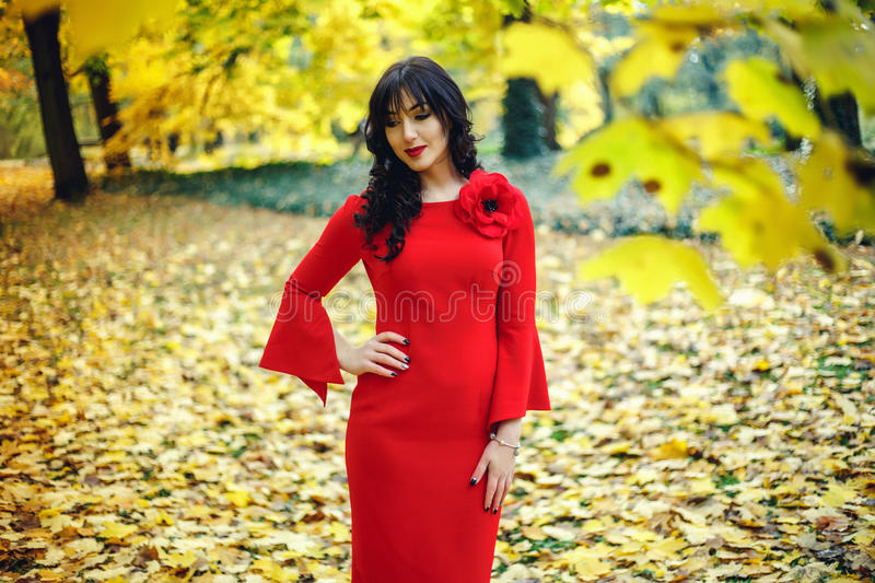 Beautiful young woman. With professional make up, hair styling. Luxury accessory New Bright color makeup, shiny lipstick glossy co. Smetics. Young pretty photo stock photos