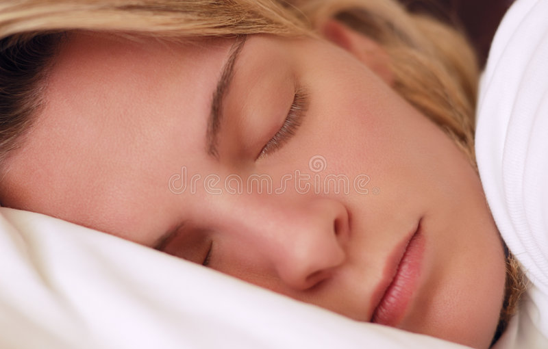 Download Beautiful Young Woman Sleeping Stock Photo - Image: 7650502