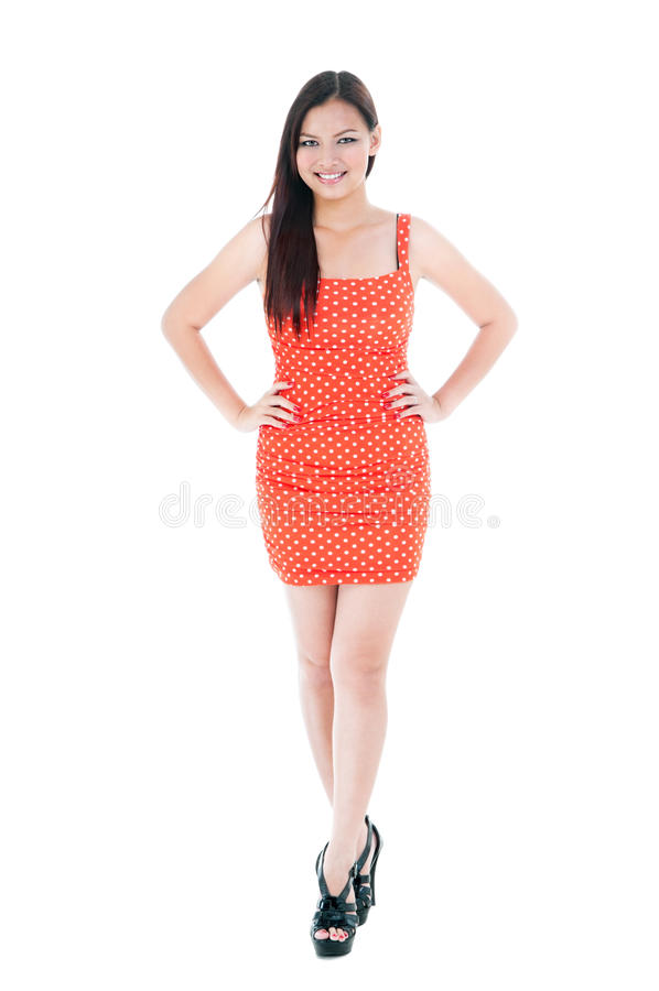 Beautiful Young Woman Smiling stock photography