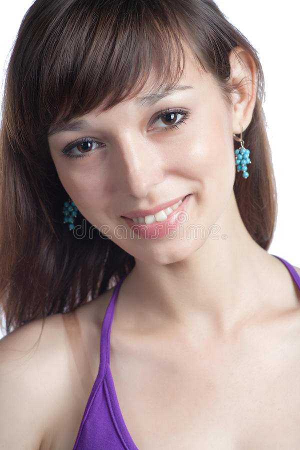 Beautiful Young Woman Smiling Royalty Free Stock Photo