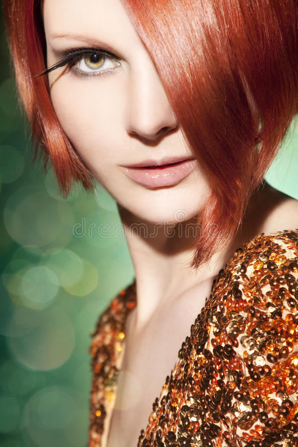 Download Beautiful young woman stock photo. Image of luxury, bright - 39500444
