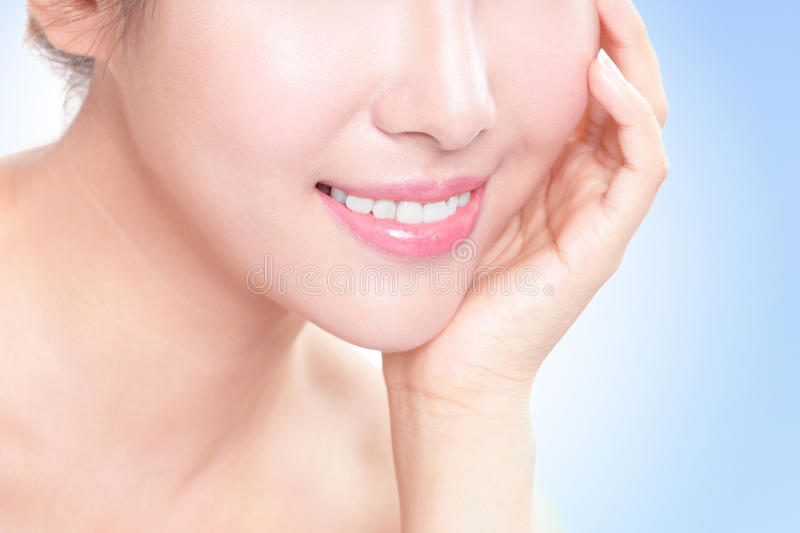 Download Beautiful Young Woman Teeth Close Up Stock Image - Image: 33100699