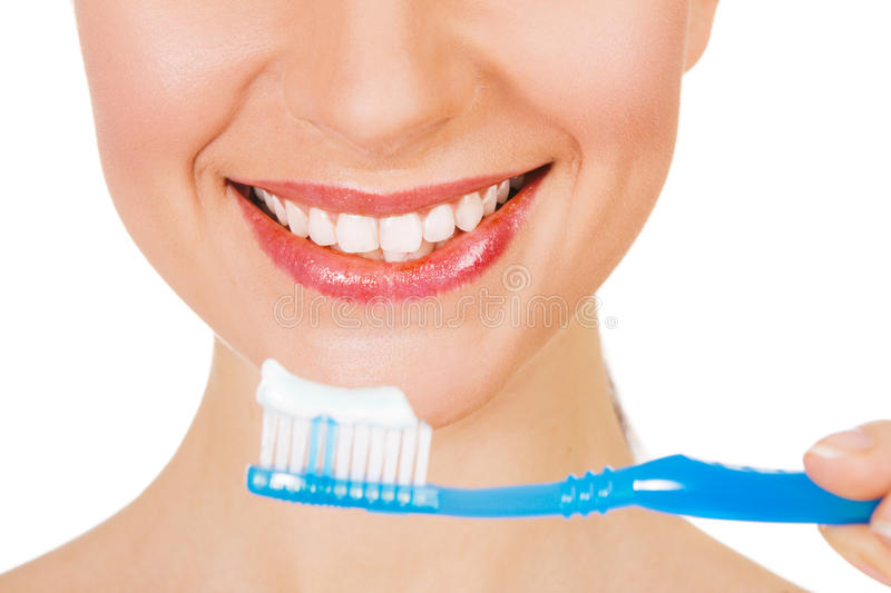 Download Beautiful Young Woman With A Toothy Smile Stock Image - Image: 14302825