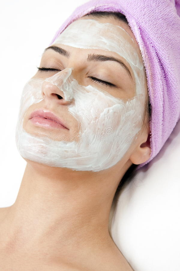 Free Beautiful Young Woman With Face Mask Stock Images - 18502204