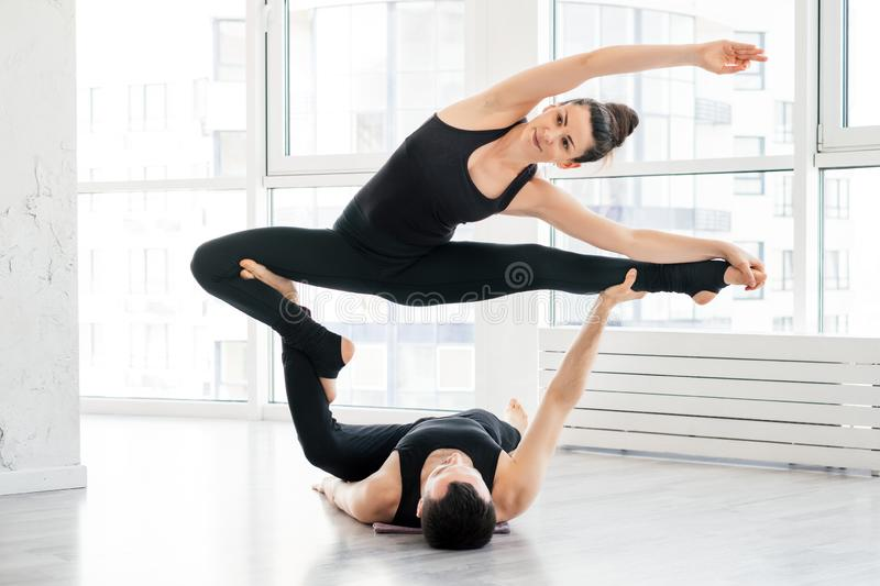 Exercise Flexibility Partner Stock Images - Download 1,382