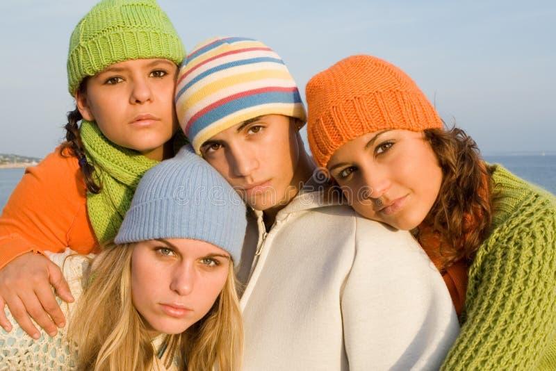 Beautiful youth stock image