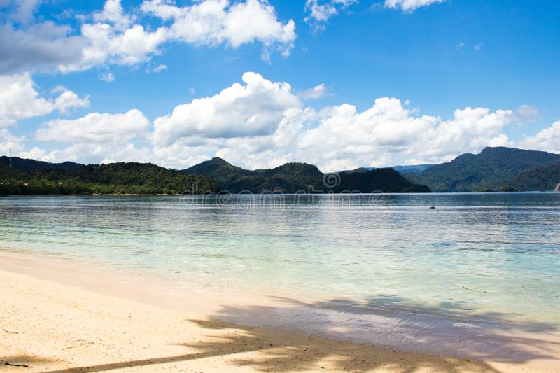 Beautifull beach. Landscape, summer, holiday, nature stock images