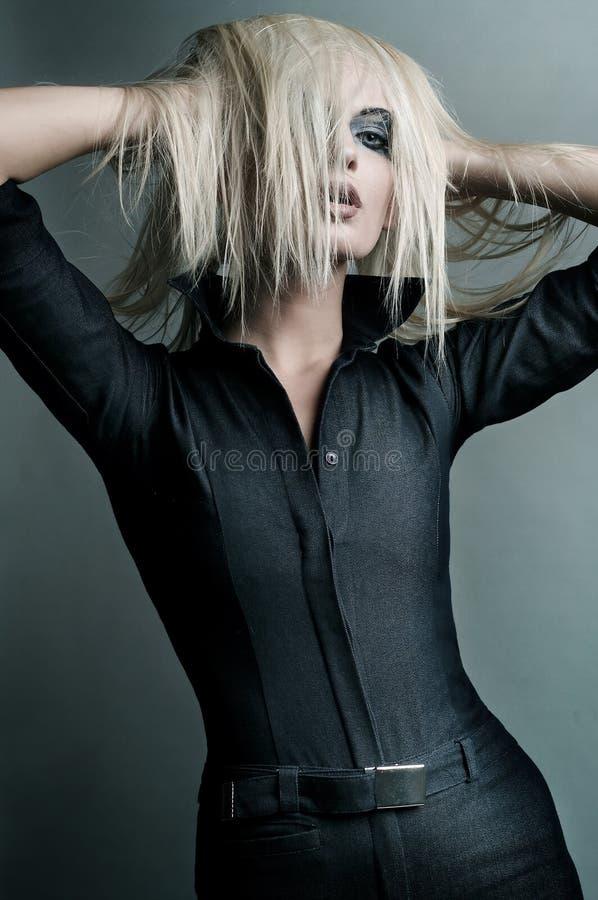 Beautifull blondynka! obrazy stock