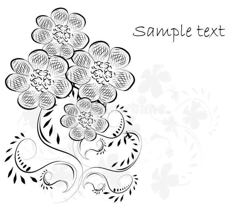 Beautifull decorative flower background