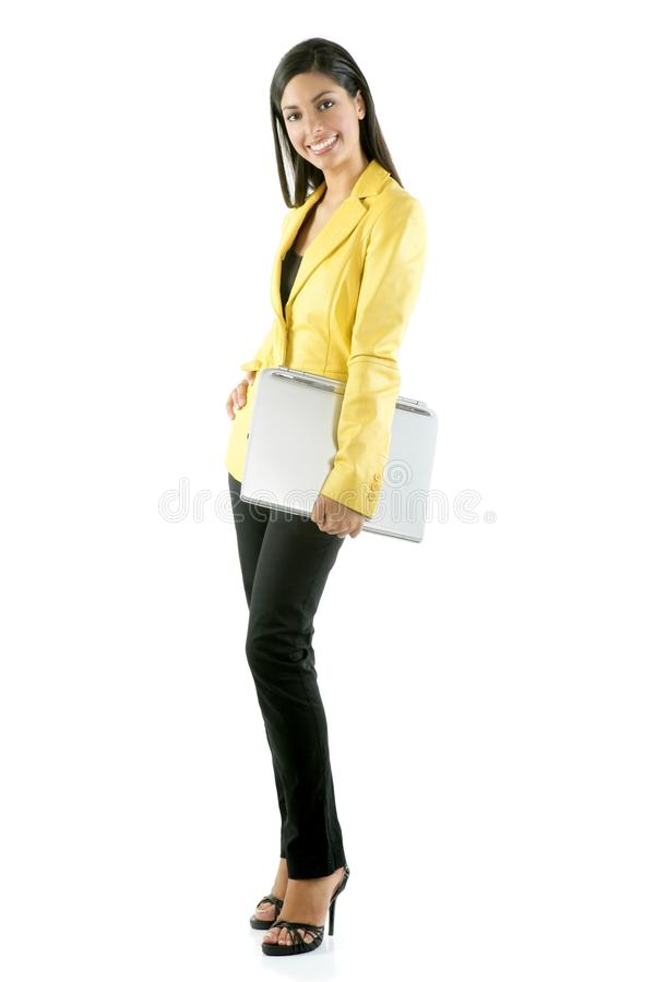Download Beautifull Full Body Woman Portrait On White Stock Photo - Image: 10172904
