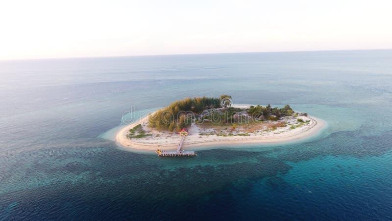 Beautifull island. Island l ocean beach blue sky nature beautifull royalty free stock image