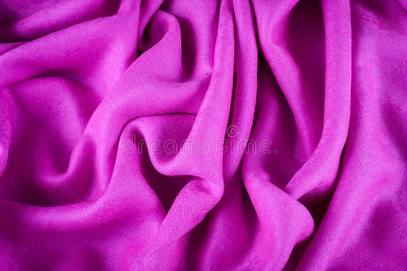 Beautifull natural cashmere scarf royalty free stock photography