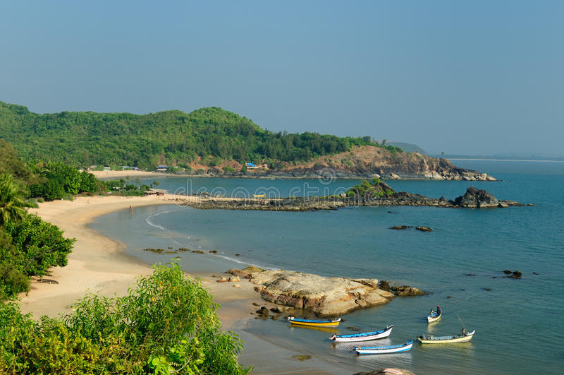 beautifull plażowy hindus obraz stock