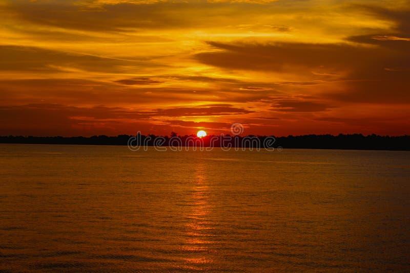Beautifull sunset. Outdoor, dusk, indonesia royalty free stock images